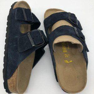 Birkenstock Slides Sandals 37 EU/ 7 (6.5) US navy